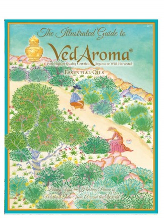 New VedAroma Essential Oils Illustrated Guide