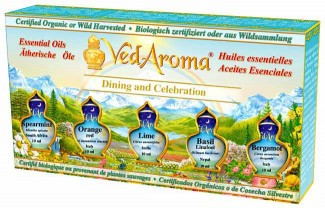 Dining and Celebration - Boxed Set of Essential Oils
