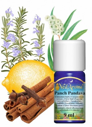 Panch Pandava - blend of essential oils