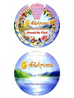 Fragrance Wheel, Around the Clock
