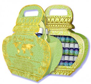 Luxury Boxed Set of 30 VedAroma Essential Oils For the Whole Family