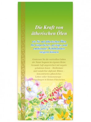 Power of Essential Oils booklet,  52 pages, German