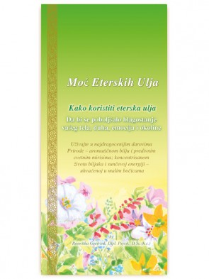 Power of Essential Oils booklet,  52 pages,Serbian