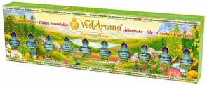 VedAroma Starter Kit - Boxed Set of Essential Oils